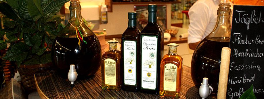 kaltgepresste Olivenöle