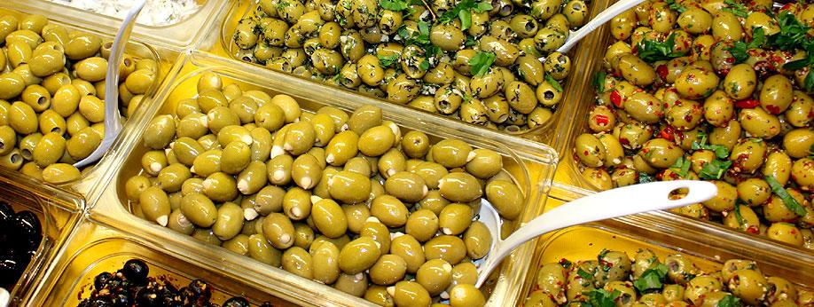 die größte Auswahl an Oliven Spezialitäten